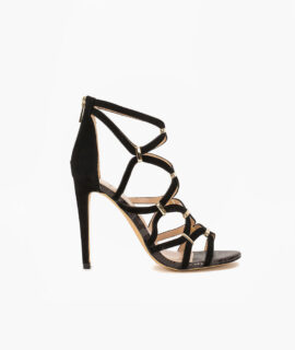 Sandal With Gold Trim